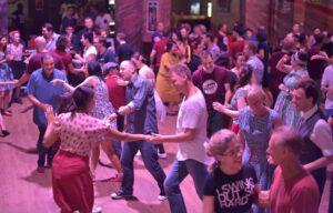 Swing dancing at Hullabaloo 2016
